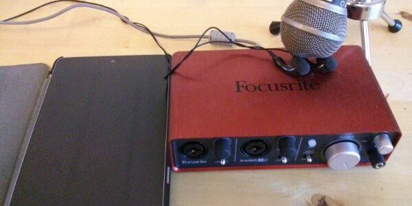 Measuring a '12 Nexus 7's microphone to speaker latency