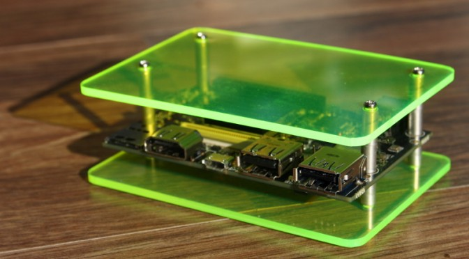 Laser cut acrylic cases for 96Boards Consumer Edition